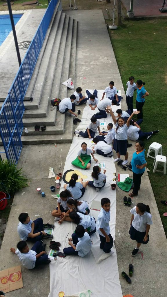 grade-7-working-on-their-painting