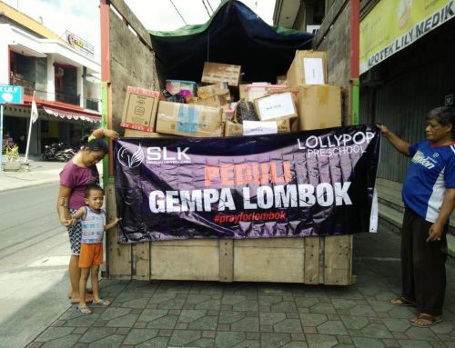 1st trip Peduli Lombok Community Service/BAKSOS