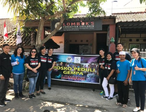 BAKSOS PEDULI LOMBOK/LOMBOK COMMUNITY SERVICE  22nd-24th of SEPTEMBER 2018